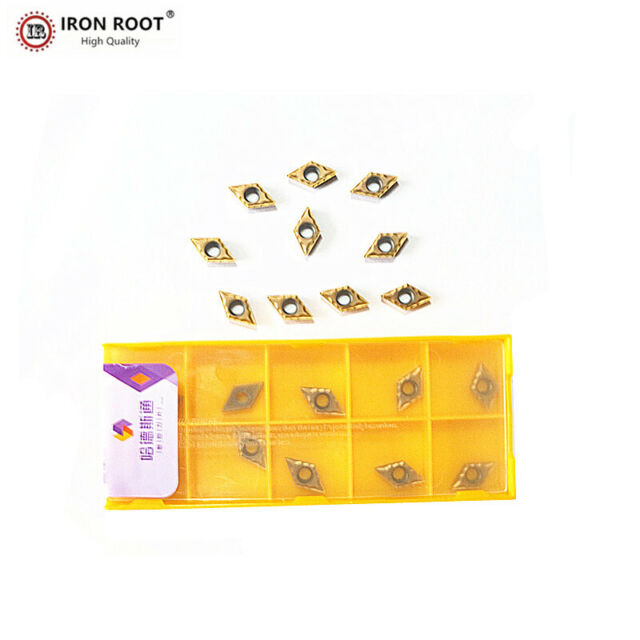 10P DCMT070204 BP010 DCMT21.51 CNC carbide inserts for cutting  stainless steel