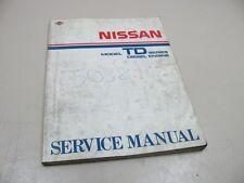 NISSAN TD 1986 Diesel Engine Terrano Motor buch Repair Manual  SM7E-00TDG0