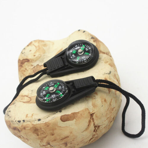 Portable Mini Small Compass Off-Road Survival Training Clip For Hiking Camping