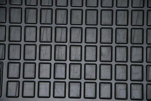 Gummifussmatten Dacia Logan Bj.2004-2012 Automatten Fußmatten NEU schwarz