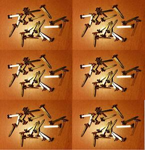 Six Packs of 20 x 25mm Brass Split Pins  Paper Fasteners 120 in total - London, United Kingdom - Six Packs of 20 x 25mm Brass Split Pins  Paper Fasteners 120 in total - London, United Kingdom