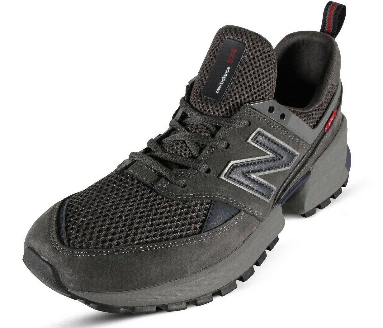 New Balance 574 V2 Men's Running shoes Suede and Mesh Magnet W Pigment MS574EDN