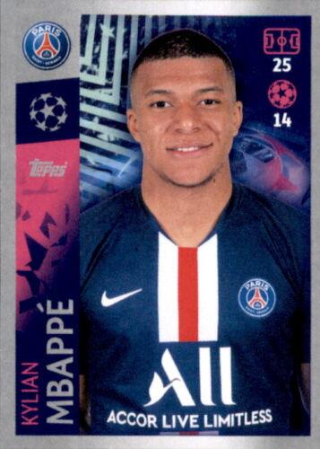 Germain Kylian Mbappe Paris St Champions League 19 20 2019 2020 Sticker 382