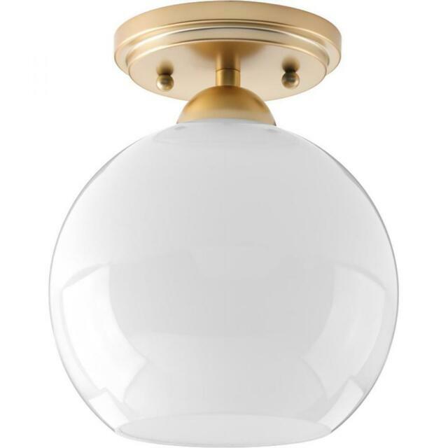 Progress Lighting Carisa Flush Mount Vintage Gold P350075 078 For Sale Online Ebay