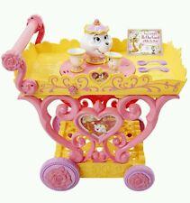 Disney Princess Belle Musical Tea Party Cart, Girls Beauty & The Beast Tea cart
