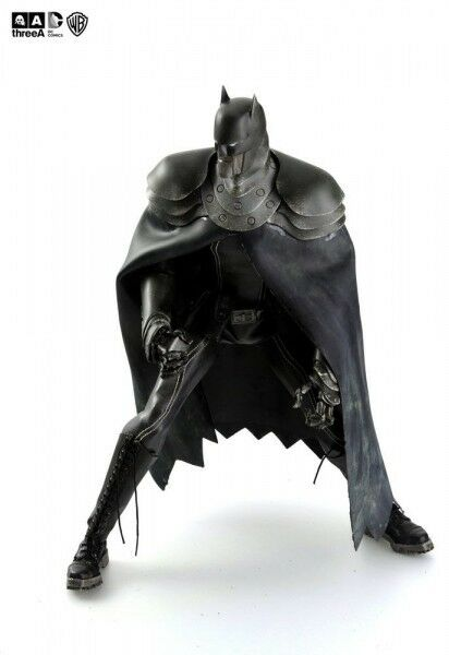 Dc Steel Age Figurine 1 6 the Batman Night 35 cm Articulated Electronic 213548
