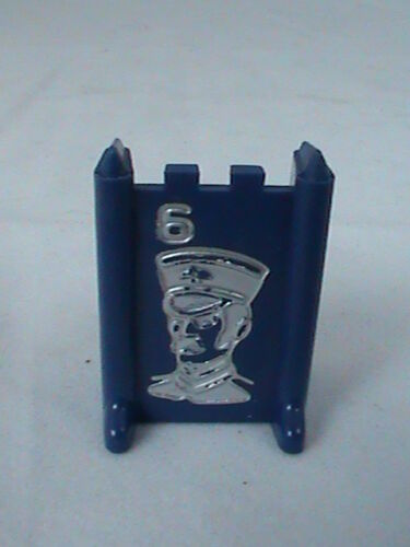 Stratego 1977 Blue Lieutenant #6 Replacement Board Game Piece
