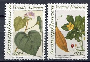 19370-UNITED-NATIONS-Vienna-1990-MNH-Medical-Plants