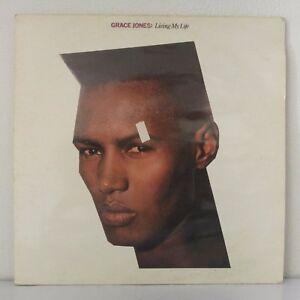 Grace-Jones-Living-My-Life-Vinyl-12-034-LP