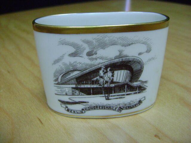 Vintage Lindner Kueps Bavaria 148 257  Toothpick holder Gold