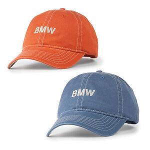 Bmw Contrast Stitch Cap Ebay
