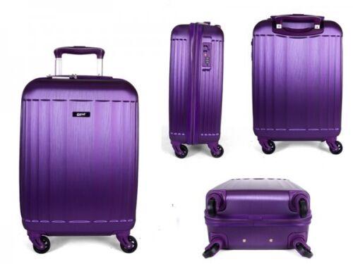 4 roues valise abs bagages sac de voyage Cabine Étui Main Carry On Coque Rigide