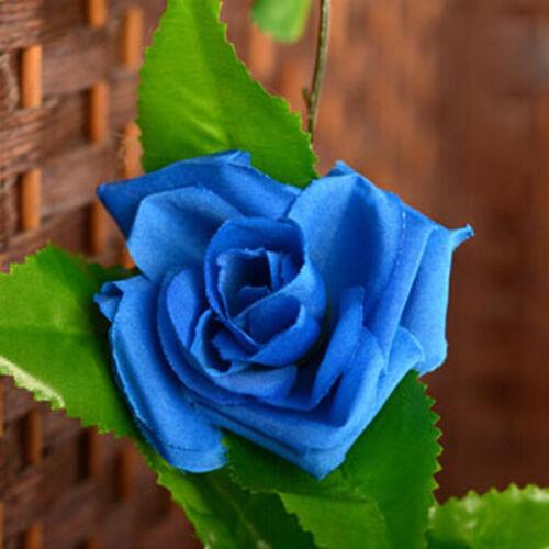 8ft Artificial Rose Silk Leaf Garland Vine Ivy Flower String Wedding Home Decor
