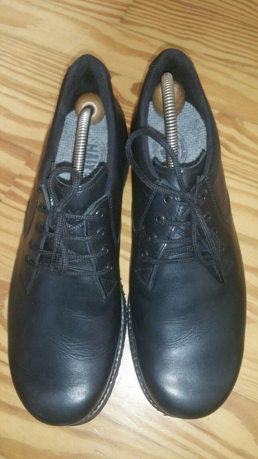 HAIX Messieurs basses service chaussures basses cuir noir T 42 UK 8 NEUF