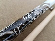 NEW Players Pool Cue D-GR 'Grim-Reaper' / Skulls Mz Grip, FREE Predator Chalk!!