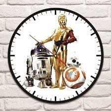 STAR Wars 3 ROBOT colore Design Vinile Record Orologio Da Parete ARTE CASA NEGOZIO UFFICIO 1