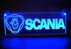 24v Eclairant Led Neon Plaque Interieur Cabine Pour Scania Camion