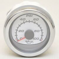 Mercury Boat Oil Pressure Gauge 79-879916k31 | Smartcraft White