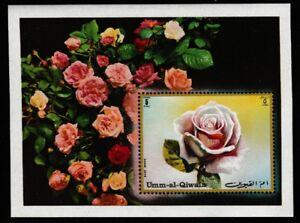 Roses souvenir sheet mnh flowers