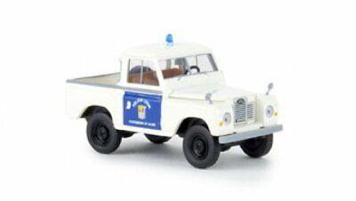"#13773 Brekina Land Rover /""Namib Tours/"" mit Ladegut 1:87"