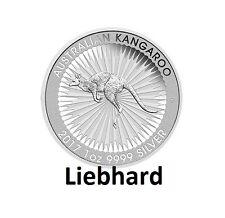 1$ Silber / Silver Australien Känguru / Kangaroo 2017 1 OZ
