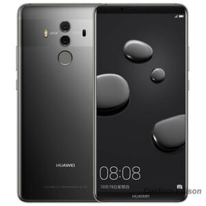 """Huawei Mate 10 Pro Smartphone Android 8 20MP 6G+128G 6.0"""" Phone Gray"""