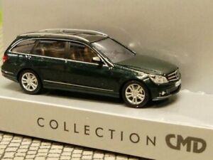 1-87-Busch-MB-C-Klasse-CMD-Avantgarde-dunkelgruen-metallic-43660