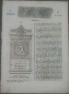 1856-RIVISTA-L-039-ALBUM-DI-ROMA-SUL-CARDINALE-ROMANO-RAFFAELE-FORNARI