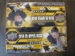 2019-20-Upper-Deck-Series-1-Retail-Hockey-Box-Factory-Sealed-24-pack-Box