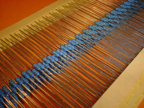 100x 2,49 Ohm Metallfilm Widerstand 1/% Bauform 0204