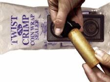 Twist-N-Crimp, Crimper for Cent, Nickel, Dime, Quarter Wrappers