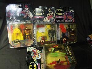 Lot-of-4-Batman-Mission-Masters-1-3-amp-4-nightwing-crusader-2000-2001-2002