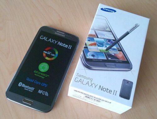 1 of 1 - Samsung Galaxy Note 2 II GT-N7100 - 16GB - Black (Unlocked) Smartphone mobile