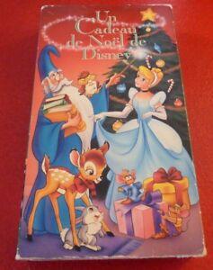 VHS-Movie-Un-Cadeau-de-Noel-de-Disney-Version-Francaise