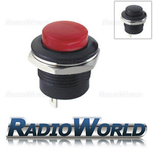Push-Button-Switch-3A-250V-Off-On-1-Circuit-Momentary-SPST-Car-Dash-Mount