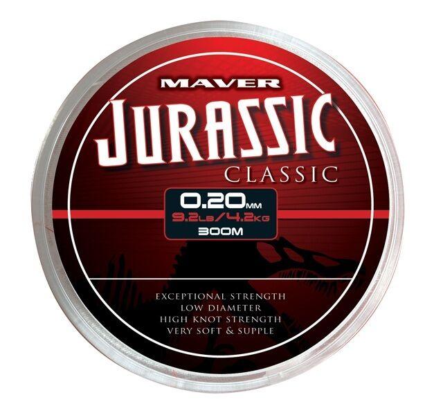 Choice of 5 sizes 300m Spools! Maver Jurassic Classic Reel Line