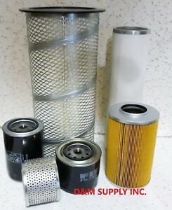 Ford-New-Holland-Diesel-Tractor-Filter-Kit-For-555A-555B-655-655A-after-81
