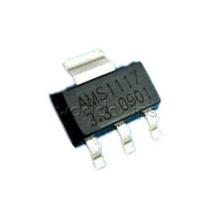 50Pcs-AMS1117-3-3-LM1117-3-3V-1A-SOT-223-Voltage-Regulator-good-quality