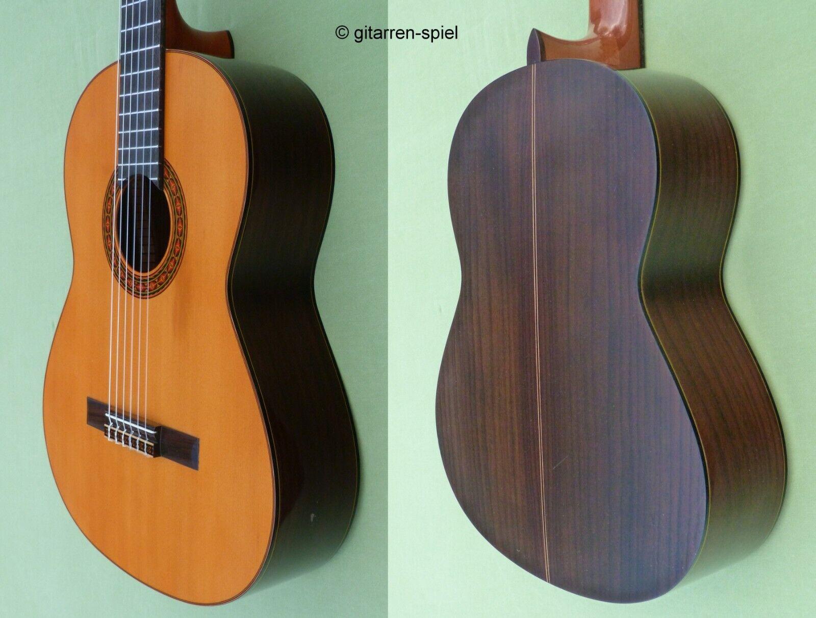 Vintage 4 4 Konzert-Gitarre Yamaha G-170A Fichte Palisander Kult ca 1970 Rar Top