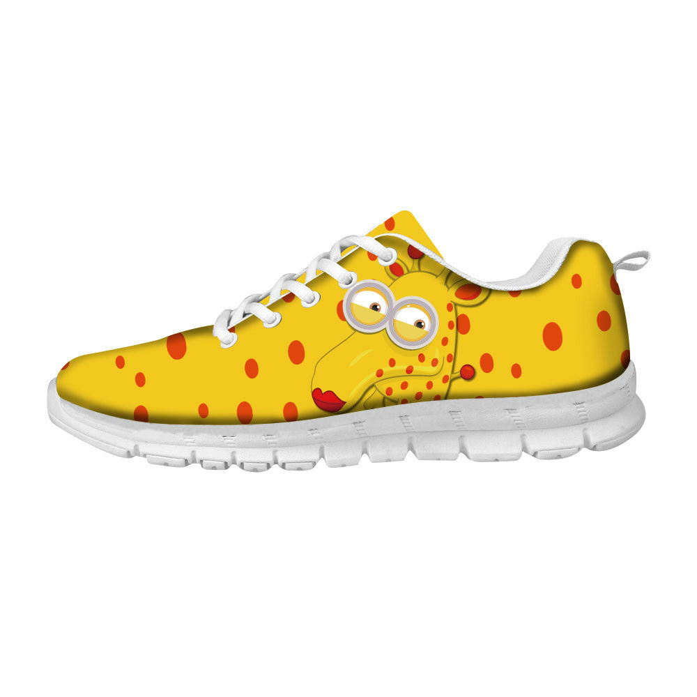 Womens running shoes Adorable Animal Print Wmns Sport Gym Sneaker Size 5-11 Flat