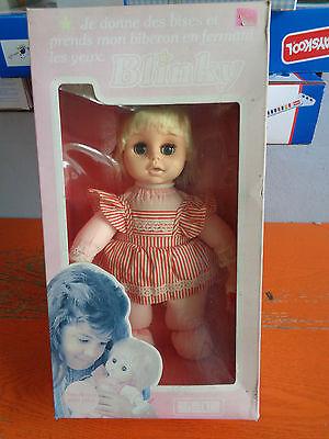 Bambola Blinky La Poupee' Molle Pour Les Petit Altezza Cm 29 Vintage Anni 80