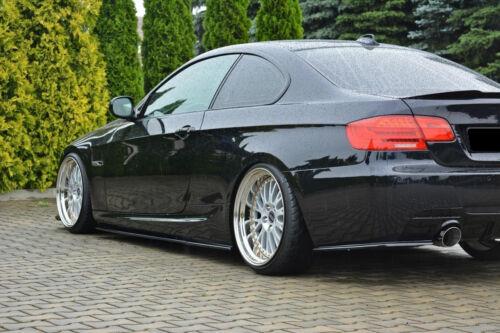 CUP Seitenschweller Ansätze CARBON 3er BMW E92 Facelift M3 M Paket Side Skirts
