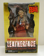Texas Chainsaw Massacre Leatherface 1:6 Cinema Fear Figure Signed Gunnar Hansen