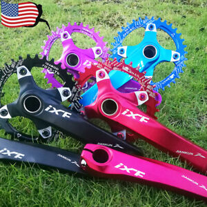 30-52t-104BCD-170mm-Crankset-Narrow-Wide-Chainring-MTB-Bike-Chainwheel-Crank-BB