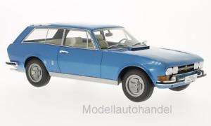 metallic-blau 1971-1:18 BOS  *NEW*  UVP 119,95€ Peugeot Break Riviera