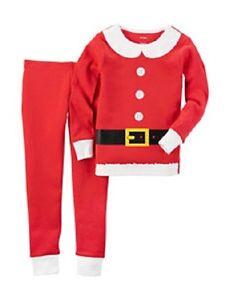 image is loading carter 039 s baby girl christmas red mrs - Girl Christmas Pajamas