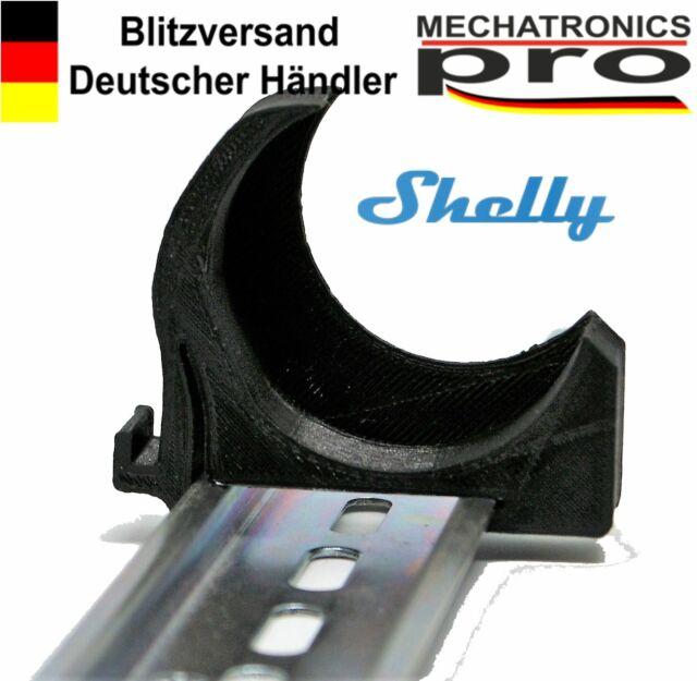 Shelly 1 / 1PM  DIN Rail Hutschienenhalter  35mm Clip Adapter bracket Arduino