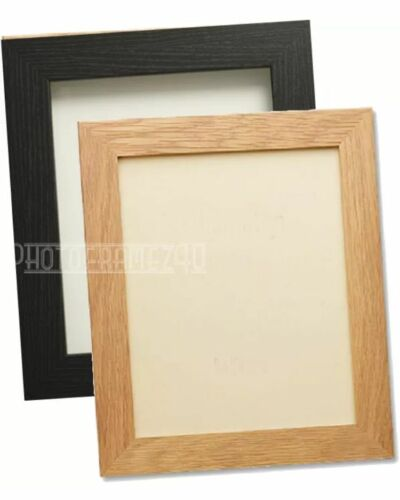 Black/&Oak Picture Frame Poster Photo Frame Wooden Effect Various Sizes Available