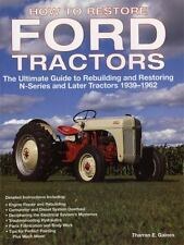 How to Restore Ford Tractors Book~N-Series On 1939-1962~Tips~Techniques~NEW