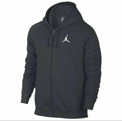 NEW Nike Basketball Mens Sz XXL Jumpman Full Zip Warm Up Hoodie Black AA5583 010